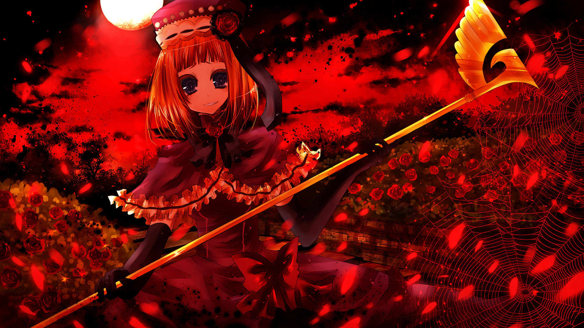 Eva-Beatrice umineko No naku HD Wallpaper