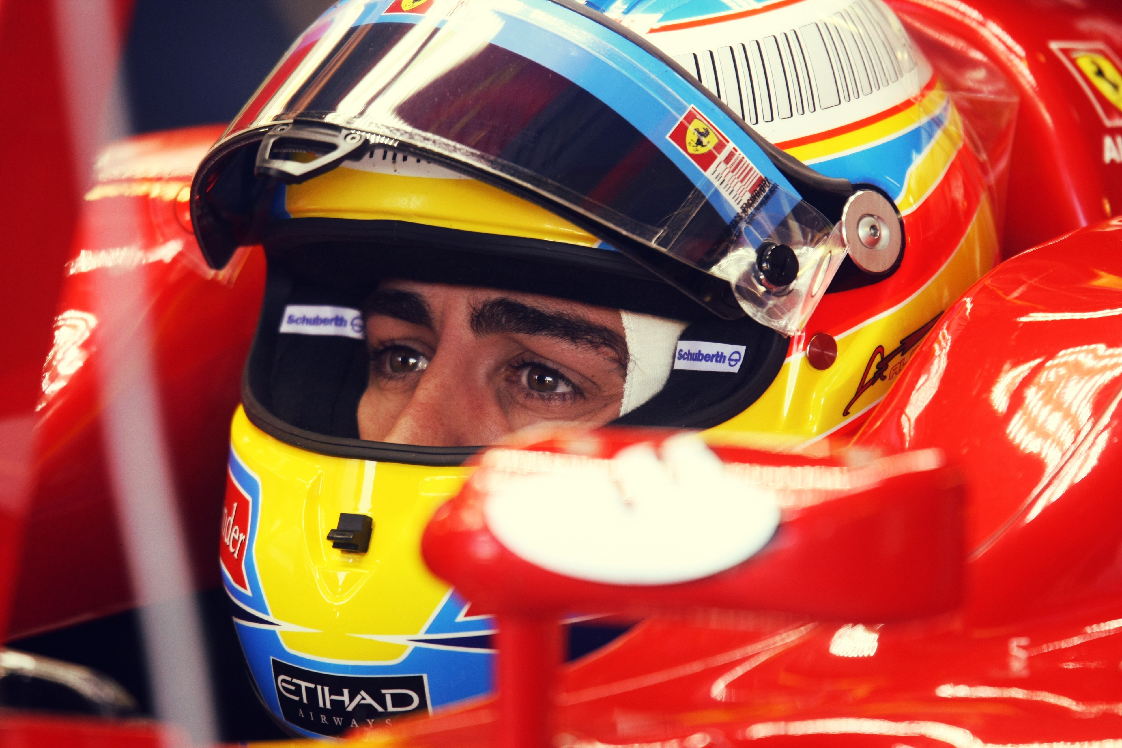 eyes Ferrari formula one HD Wallpaper