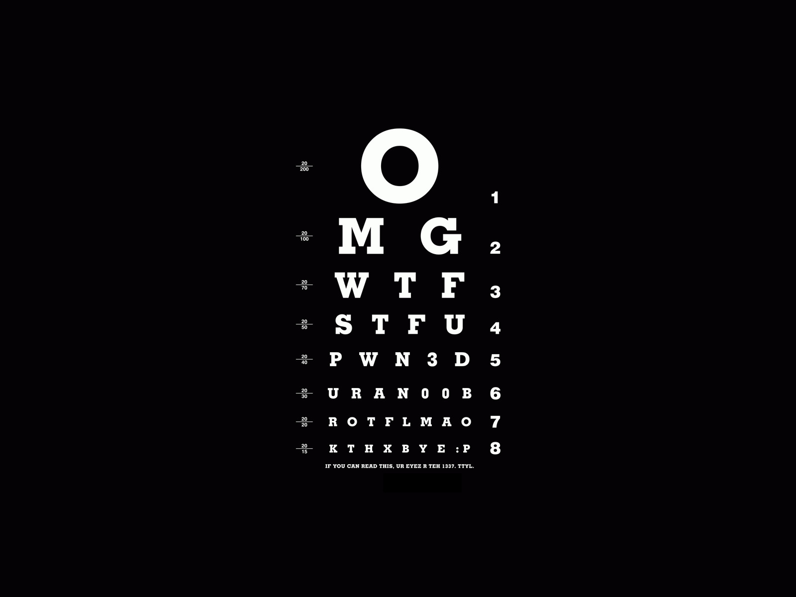 eyes minimalistic Typography exams HD Wallpaper