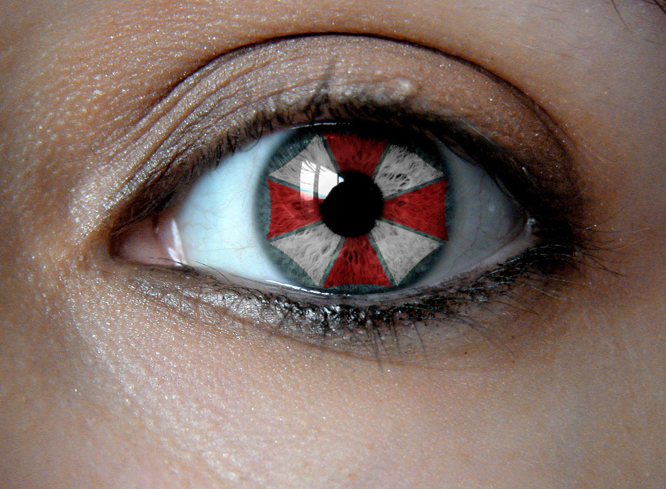 eyes Resident Evil Umbrella HD Wallpaper