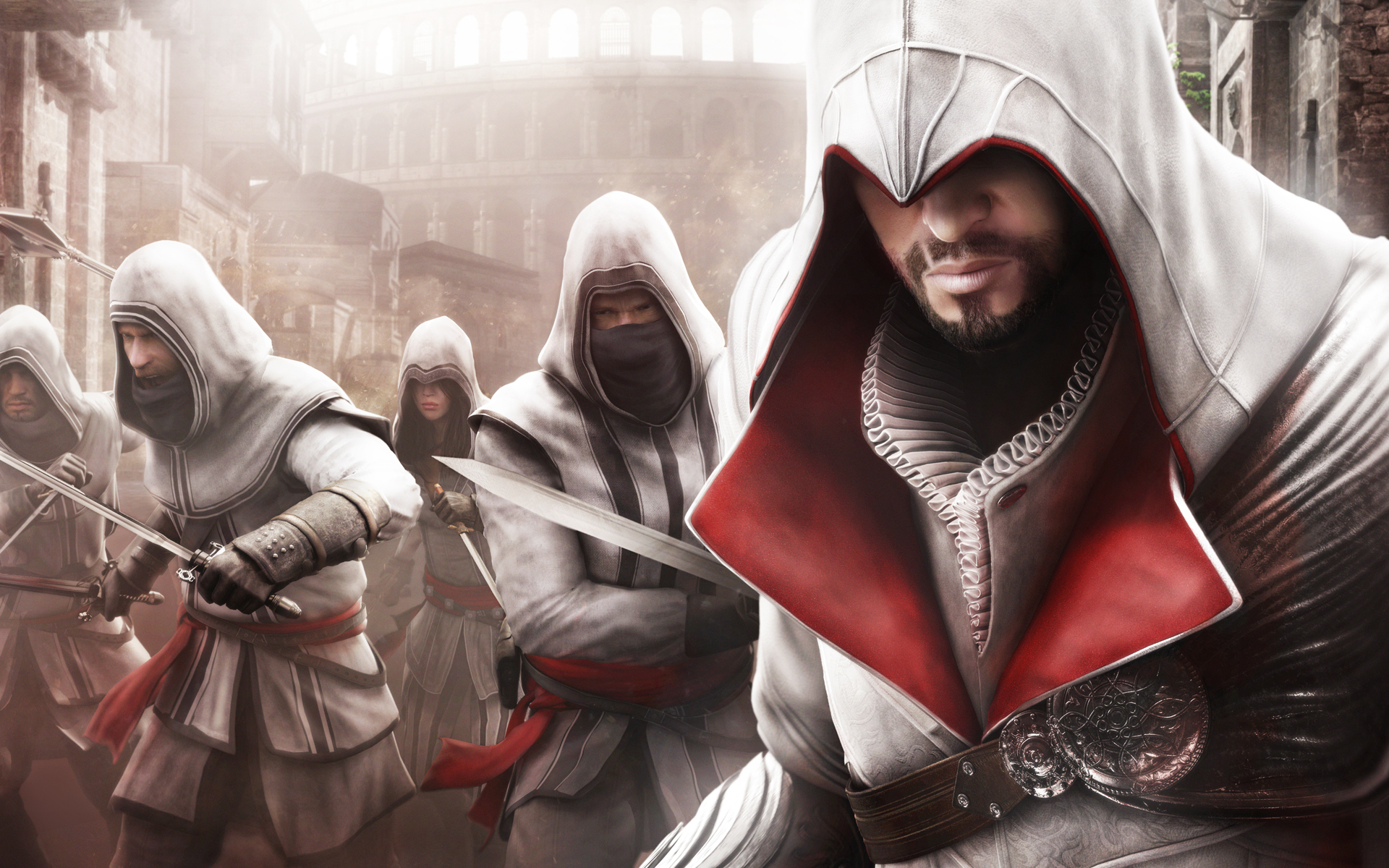 Ezio Assassins Creed Brotherhood HD Wallpaper