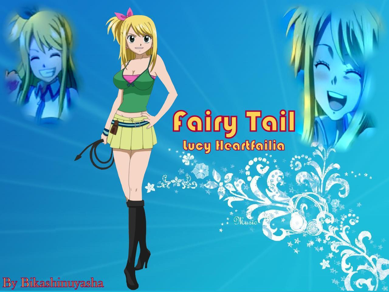 fairy tail anime girls HD Wallpaper