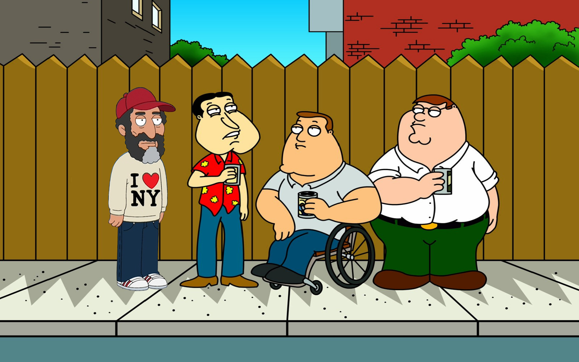 family guy New York HD Wallpaper