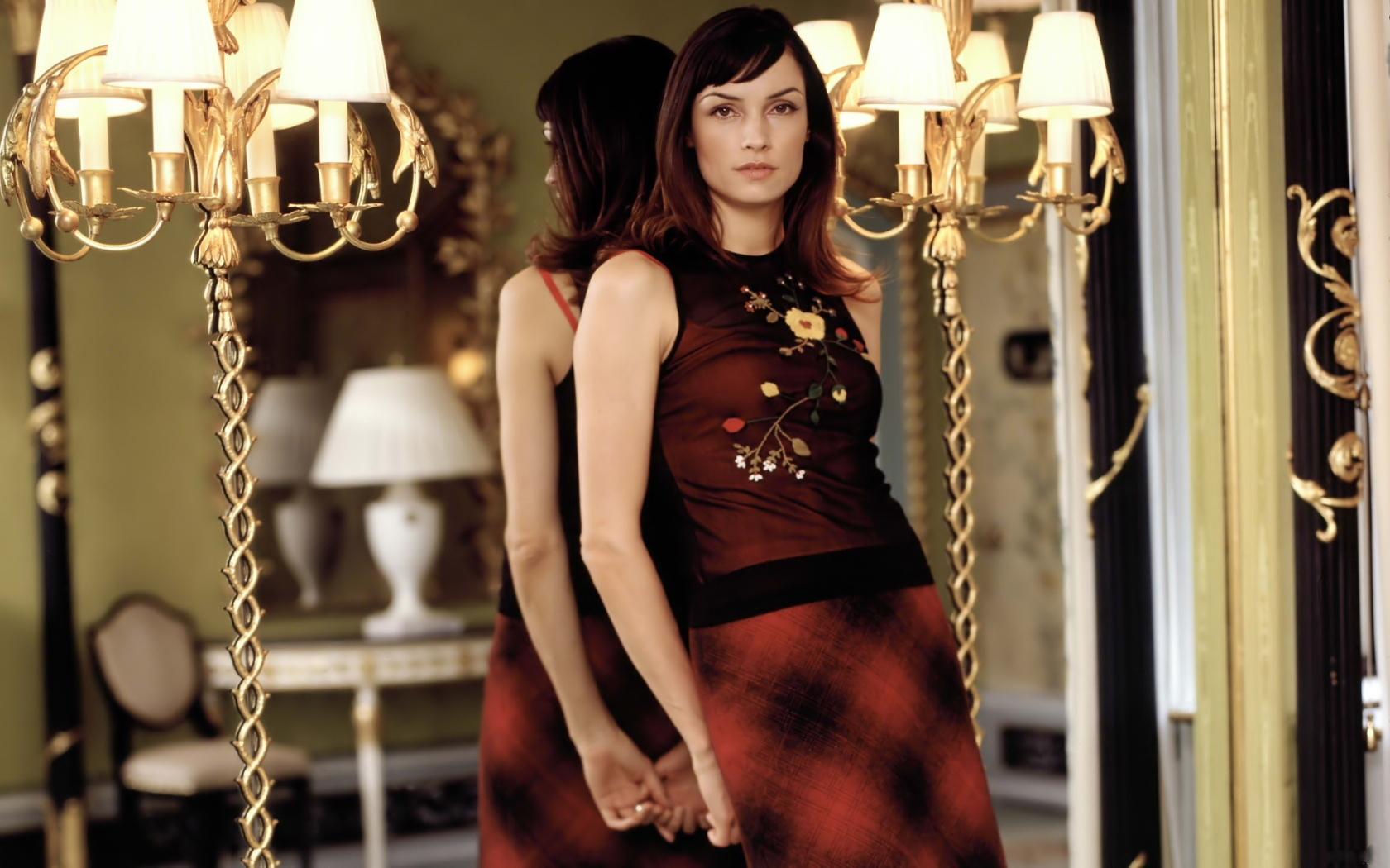 famke janssen any wg HD Wallpaper