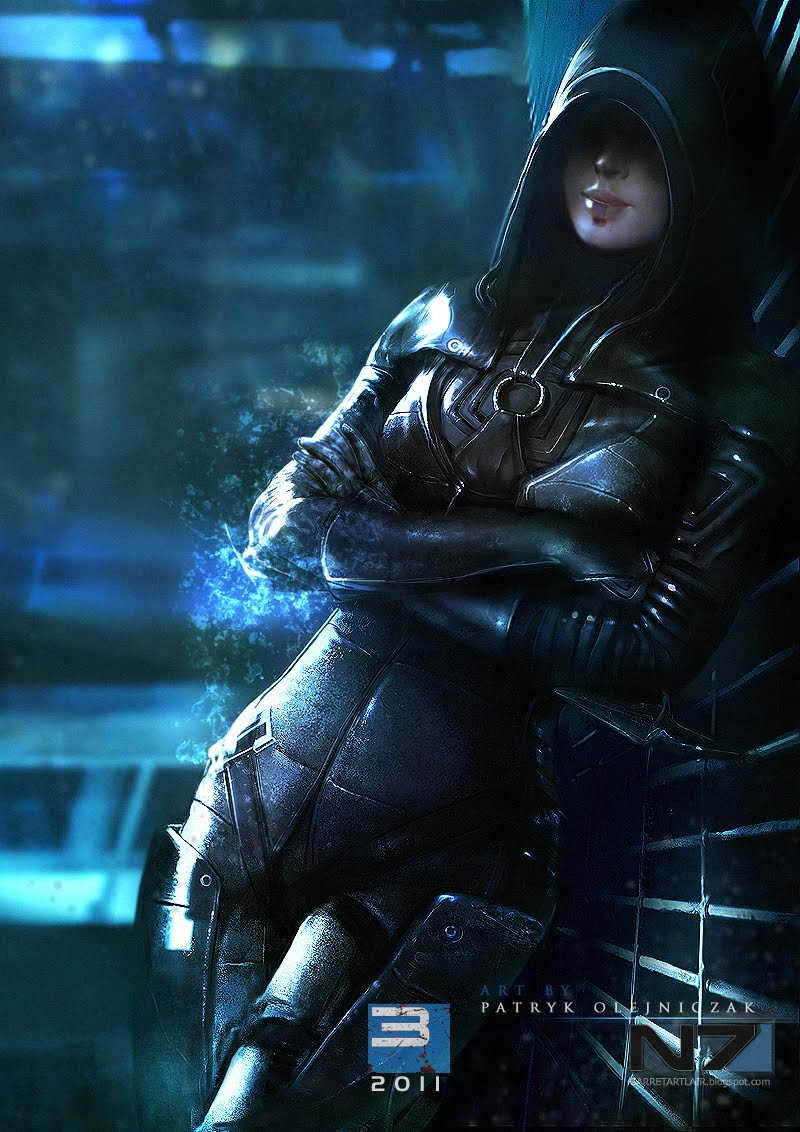 fan art mass effect HD Wallpaper