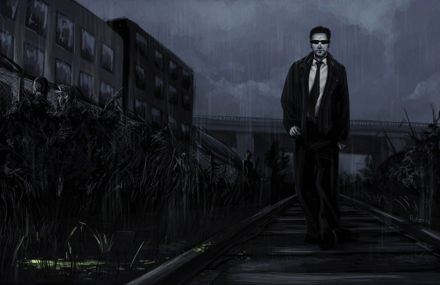 fanart heavy rain by HD Wallpaper