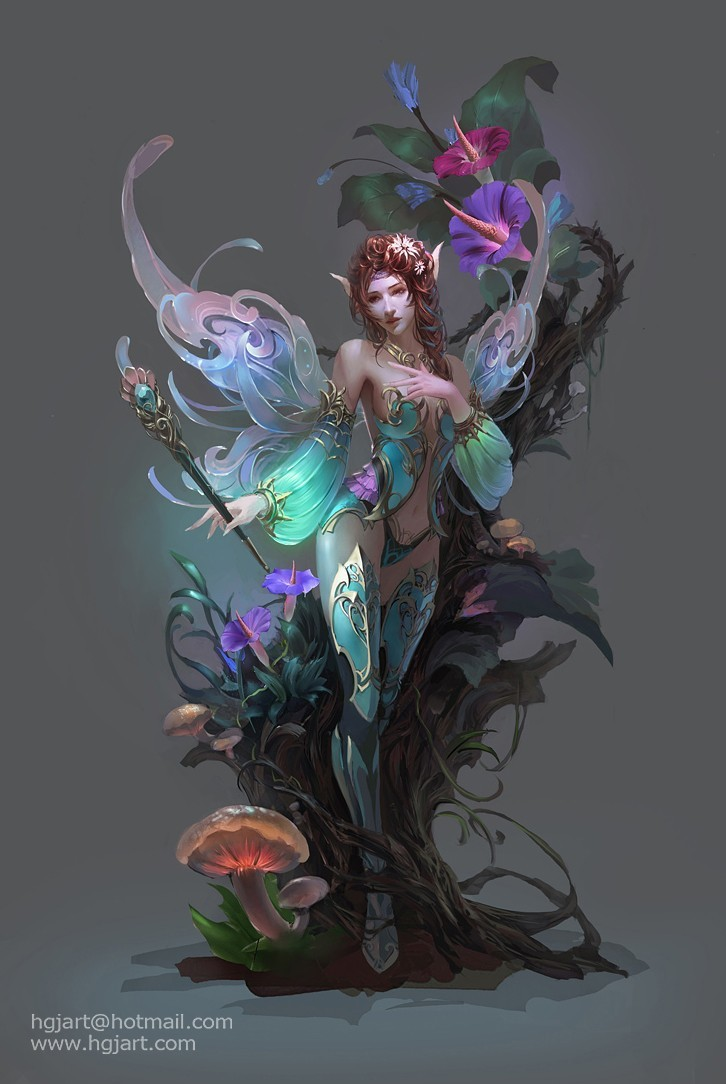 fantasy art artwork Huang