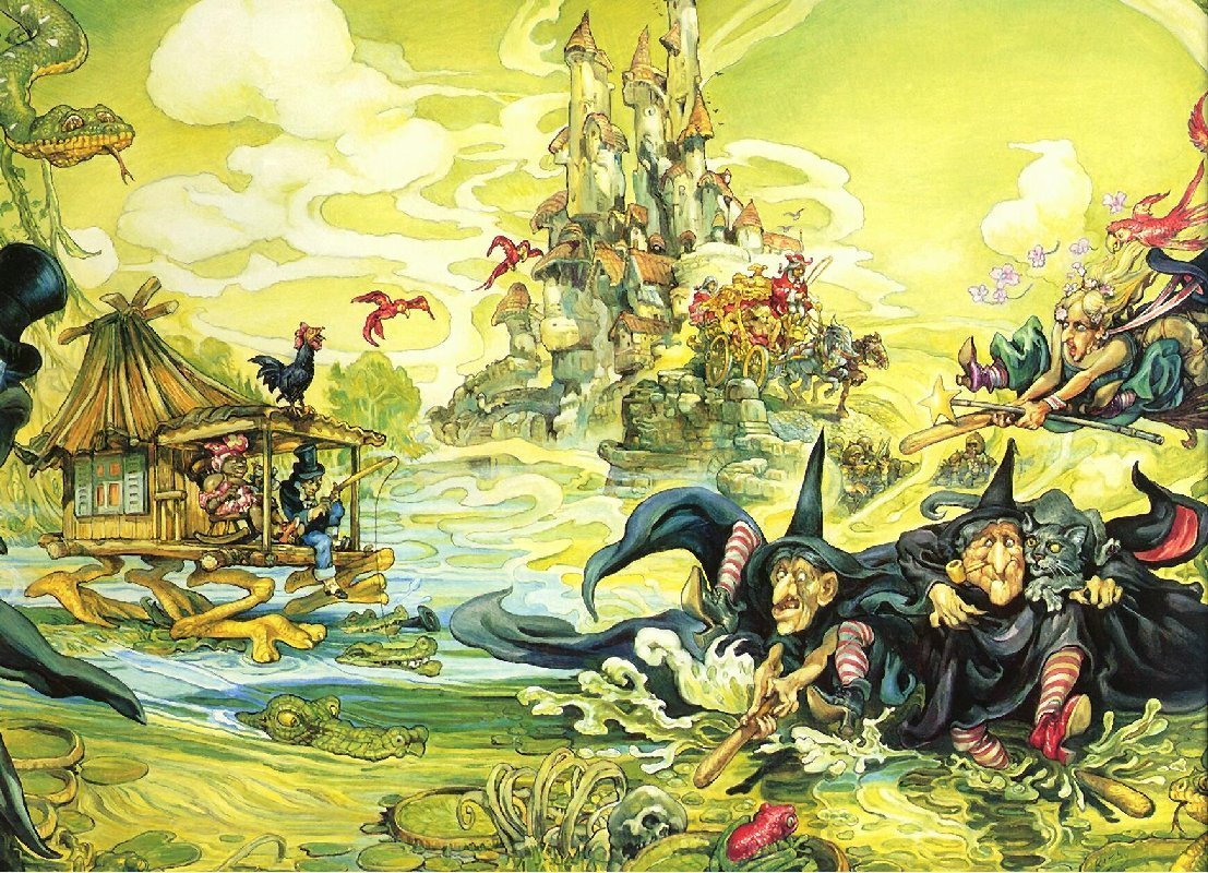 fantasy art discworld terry HD Wallpaper