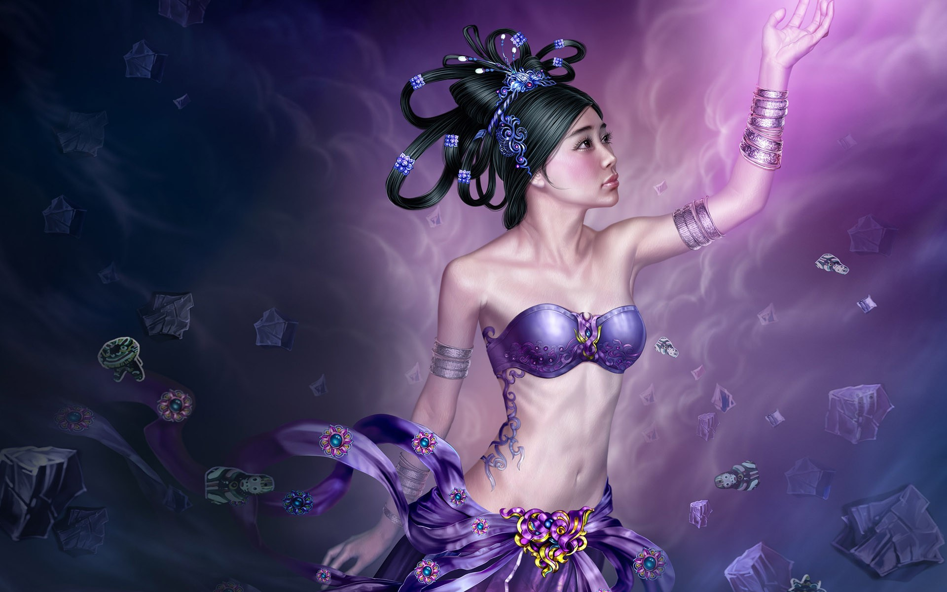 fantasy art Yuehui Tang HD Wallpaper