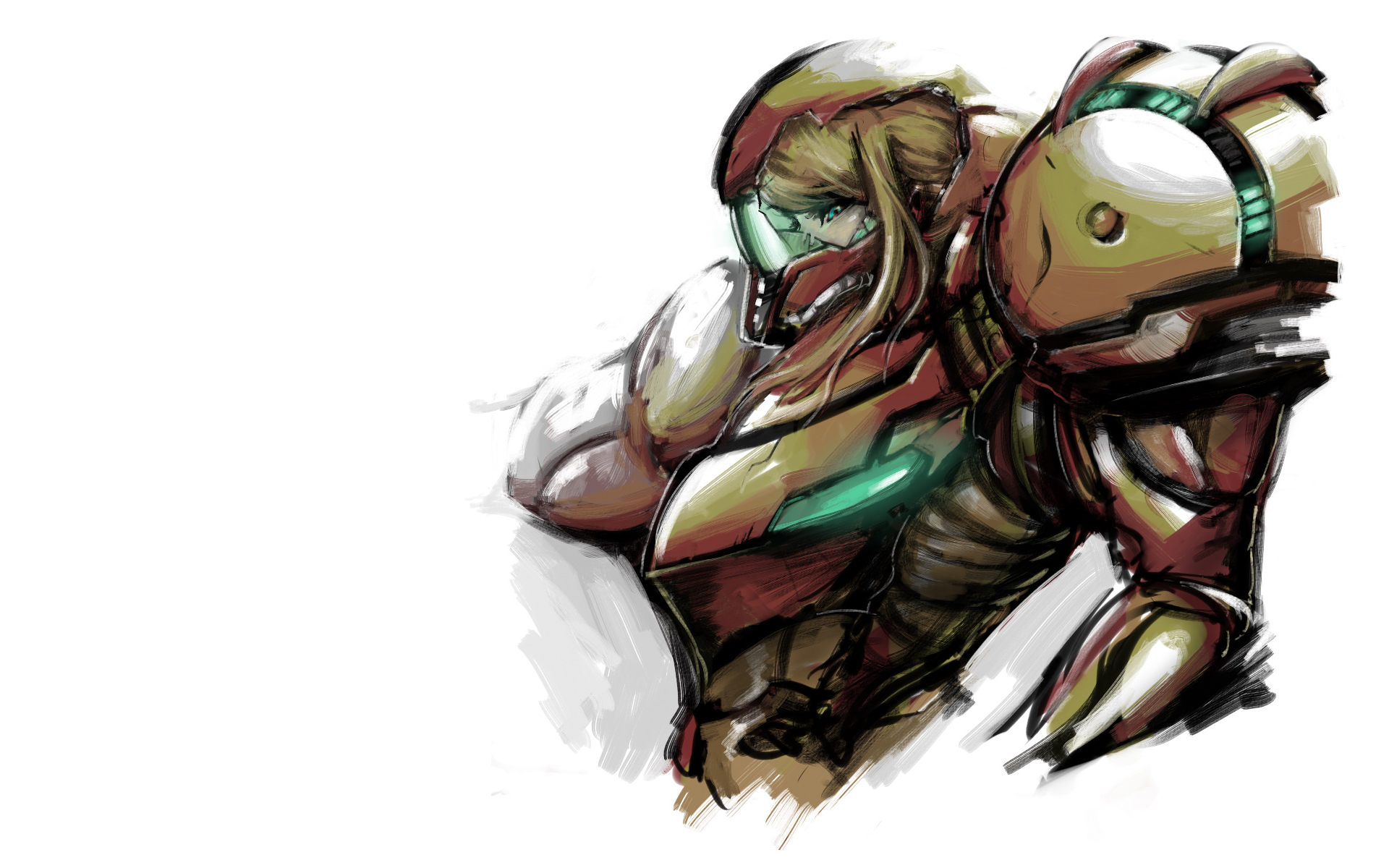 fantasy samus aran HD Wallpaper