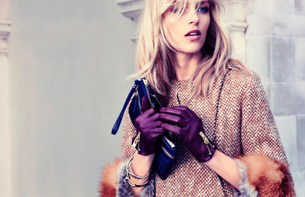 fashion Anja Rubik fashion HD Wallpaper