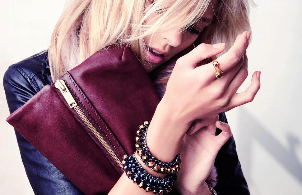 fashion photography Anja Rubik HD Wallpaper