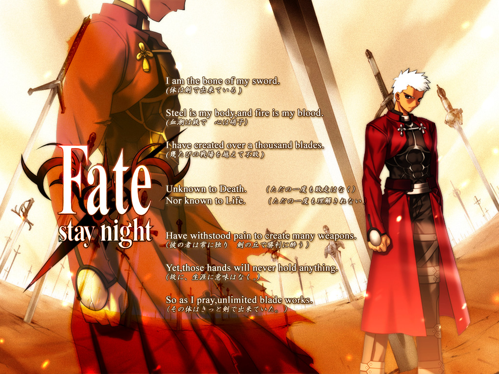 fate Stay night Archer HD Wallpaper