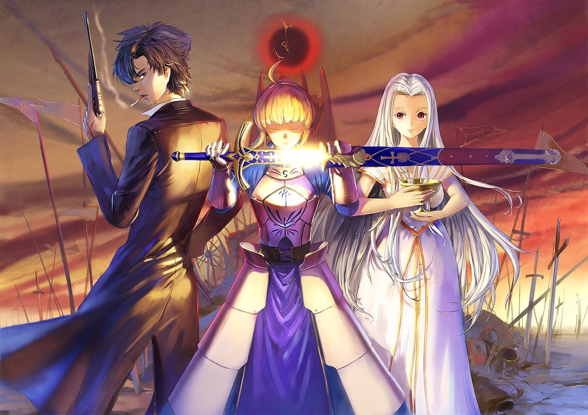 fate stay night saber HD Wallpaper