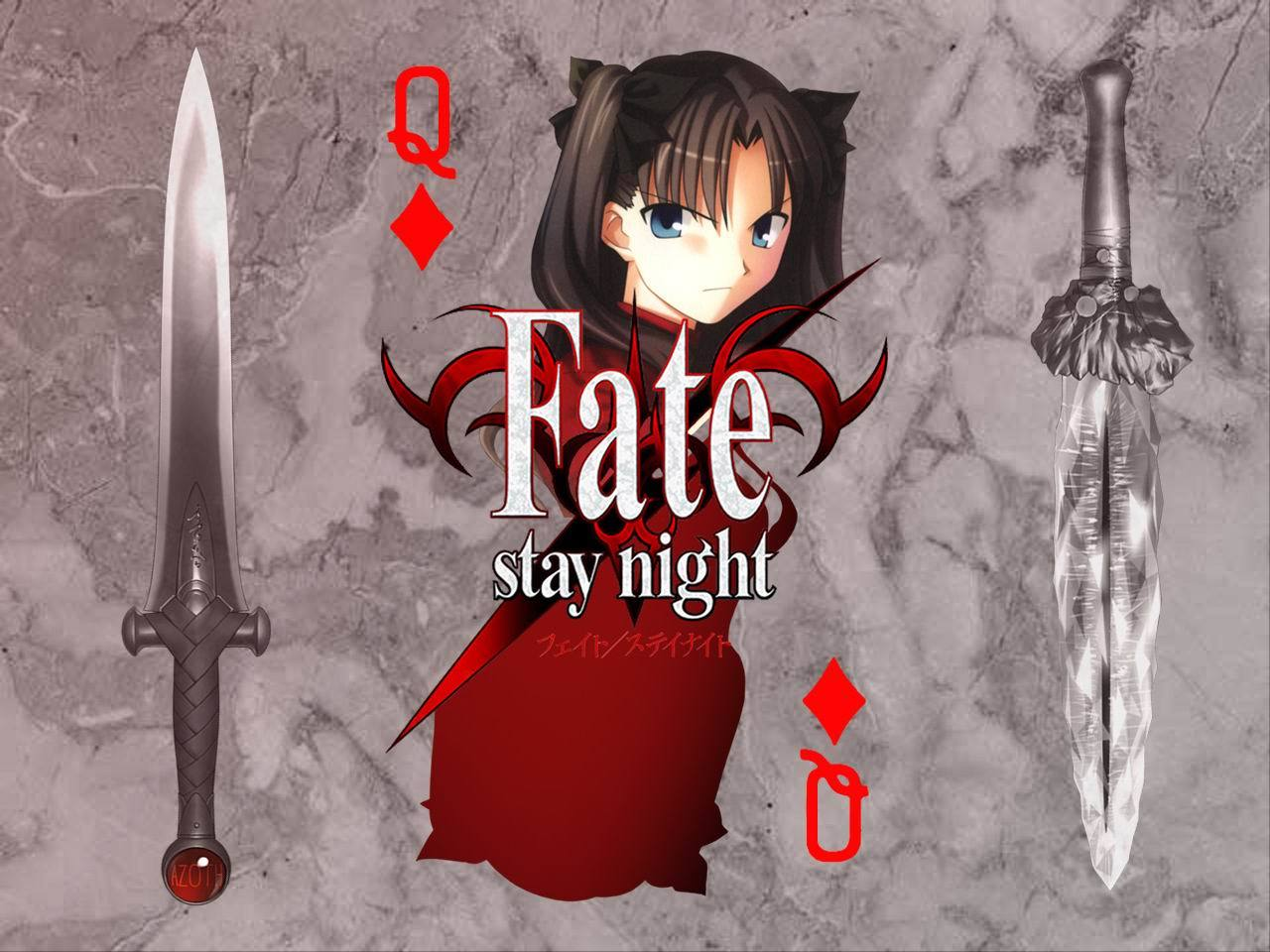 fate Stay night tohsaka HD Wallpaper