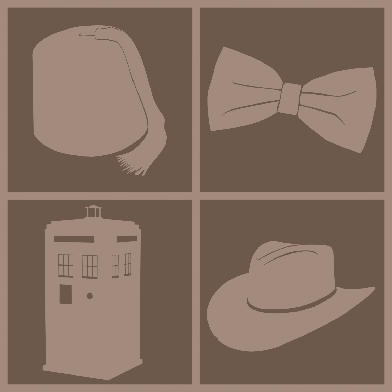 Fedora tardis doctor Who? HD Wallpaper