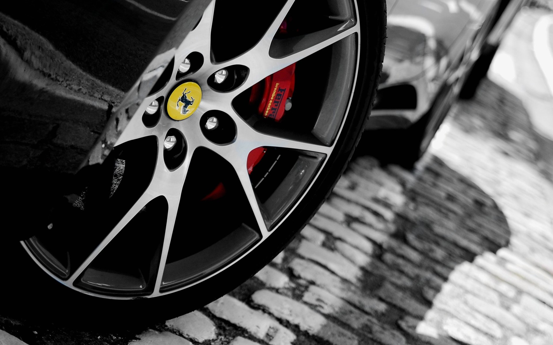 Ferrari California rim HD Wallpaper