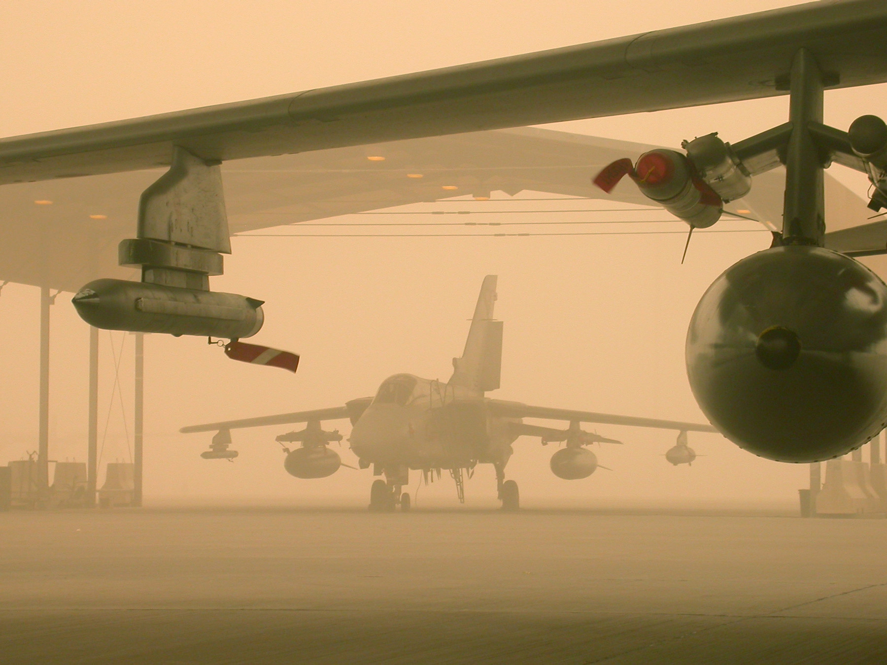 fighter jets Sandstorm military