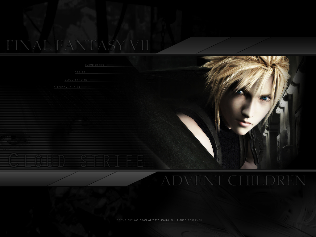 Final Fantasy cloud strife