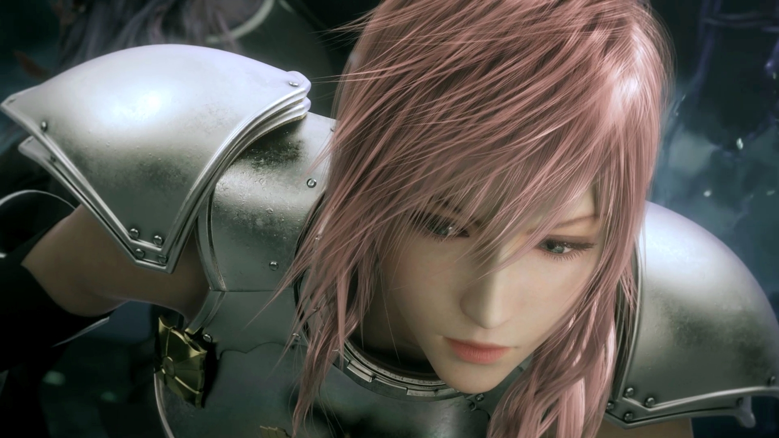 Final Fantasy pink hair HD Wallpaper