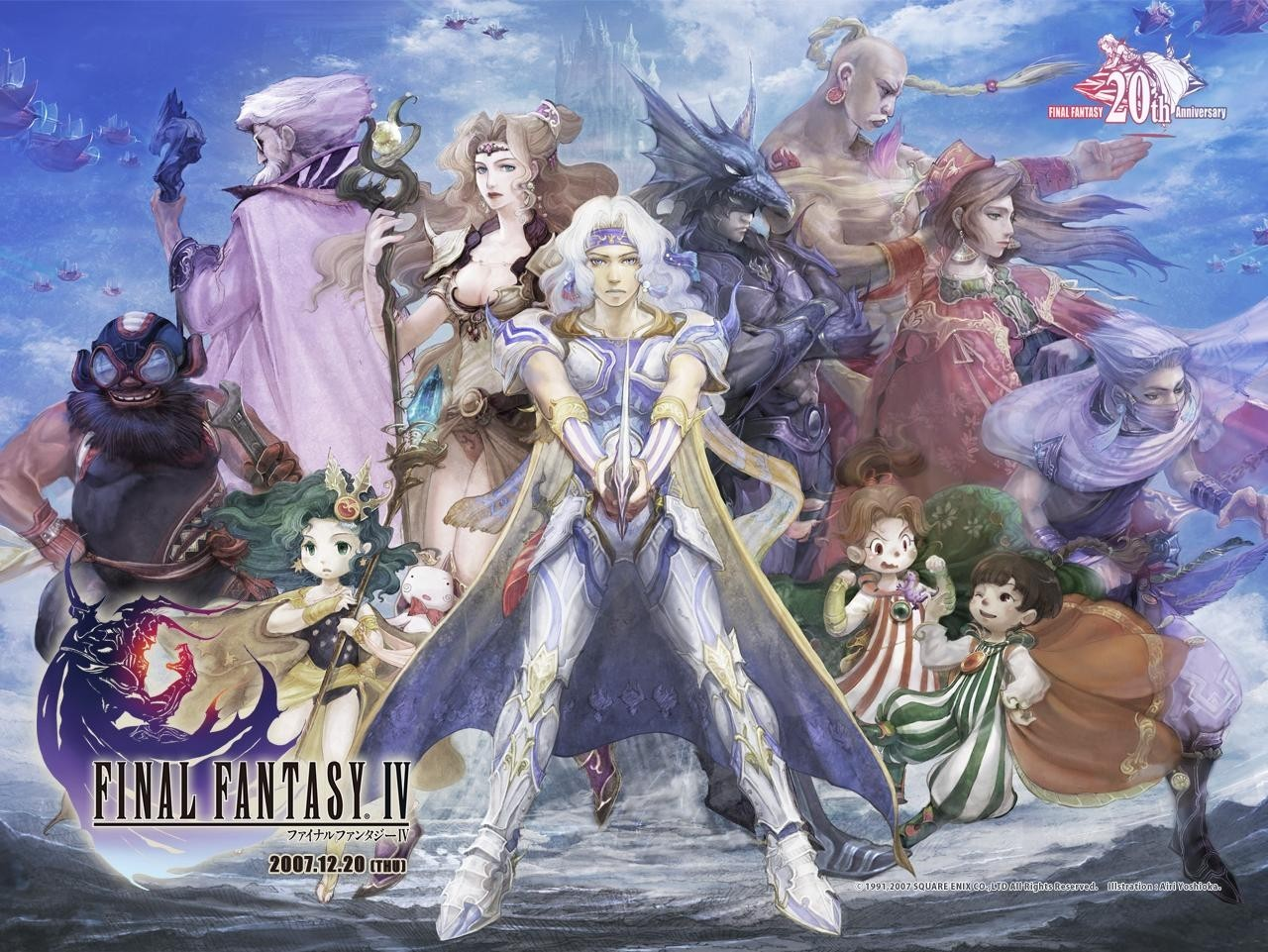 Final Fantasy video games HD Wallpaper