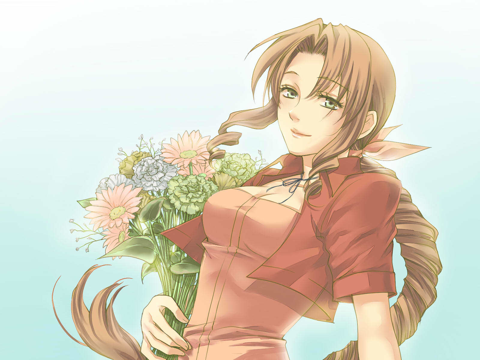 final fantasy vii Aerith HD Wallpaper