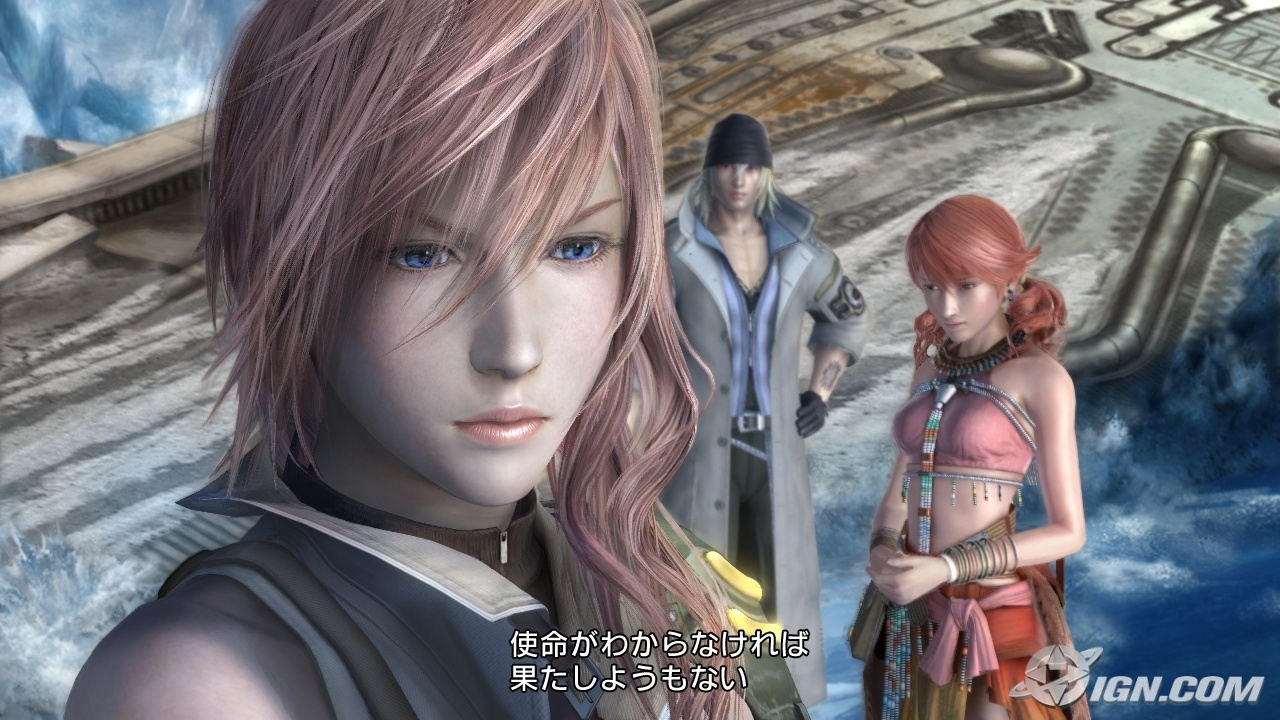 final fantasy XIII Oerba HD Wallpaper