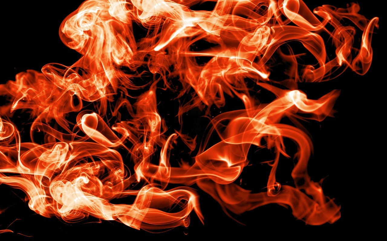 fire smoke deviantart black HD Wallpaper