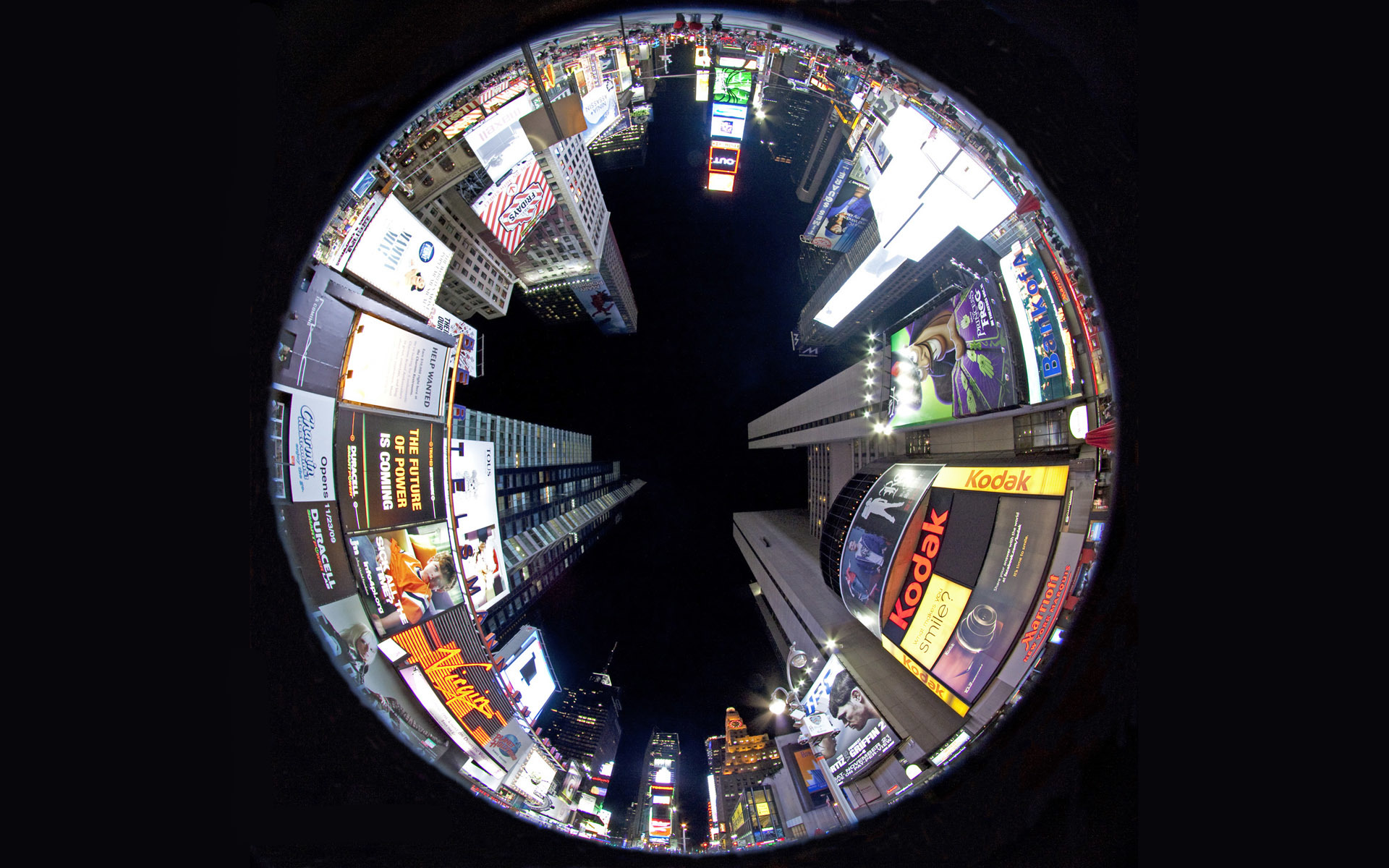 fisheye nyc City HD Wallpaper