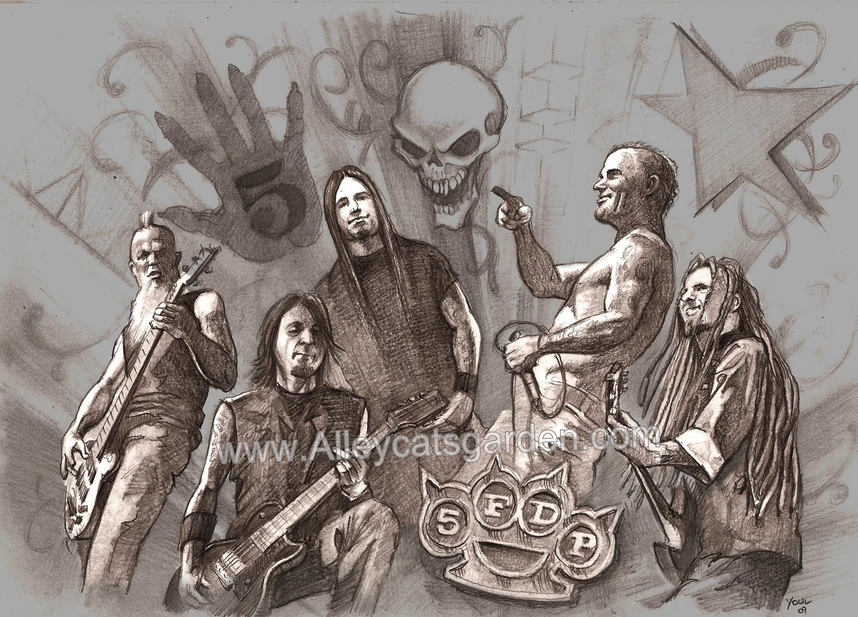 five finger death punch HD Wallpaper