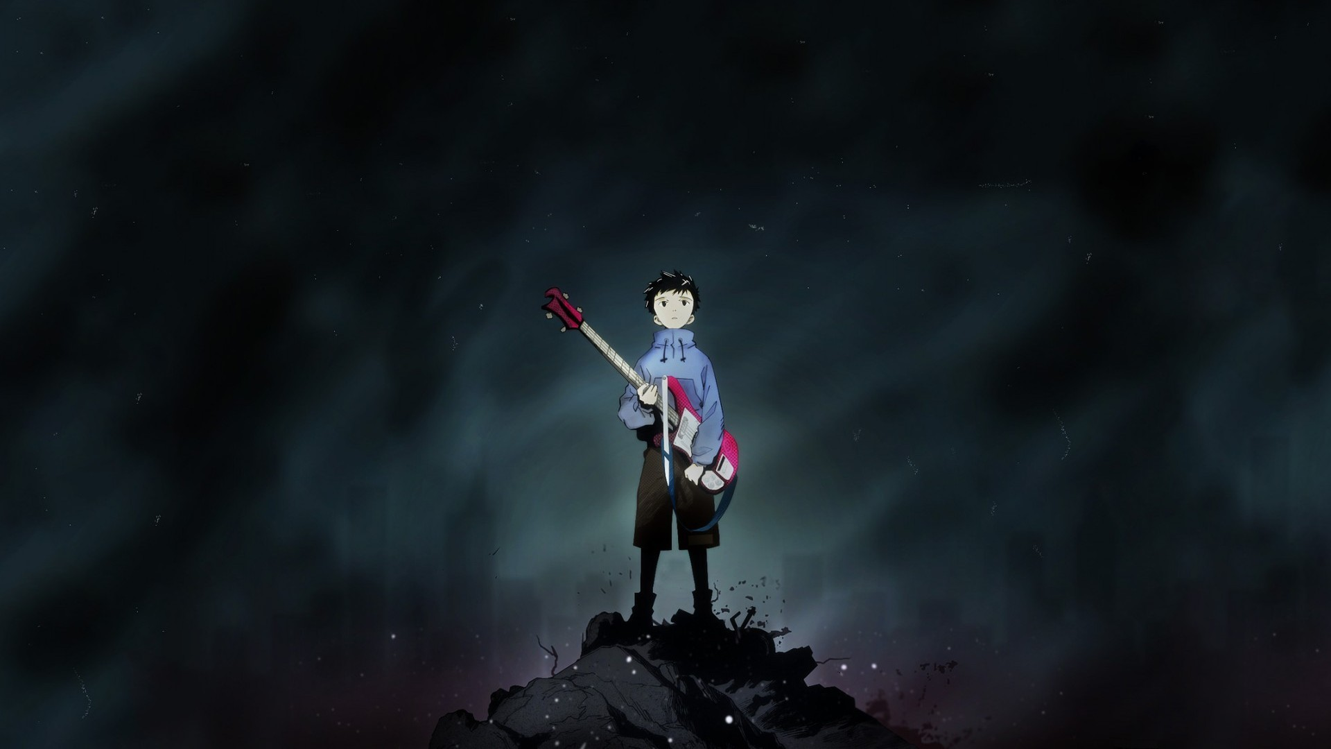 FLCL Fooly Cooly bass HD Wallpaper