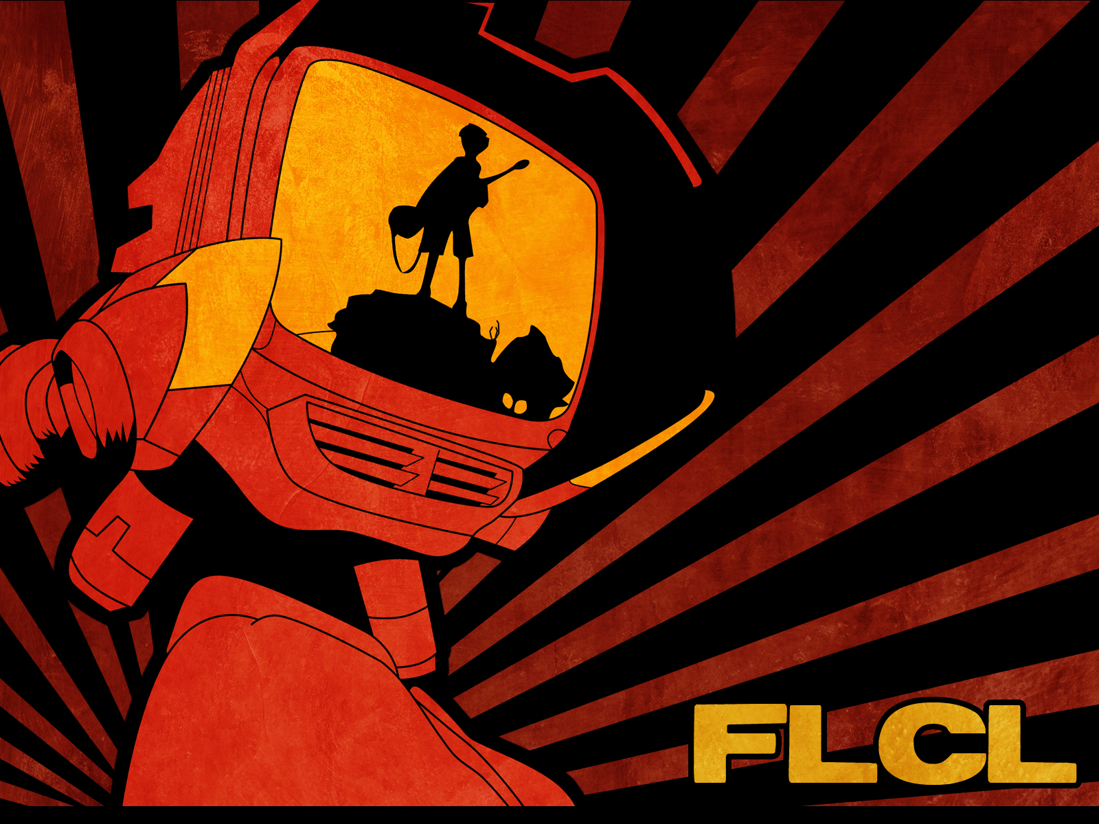 FLCL Fooly Cooly Canti HD Wallpaper