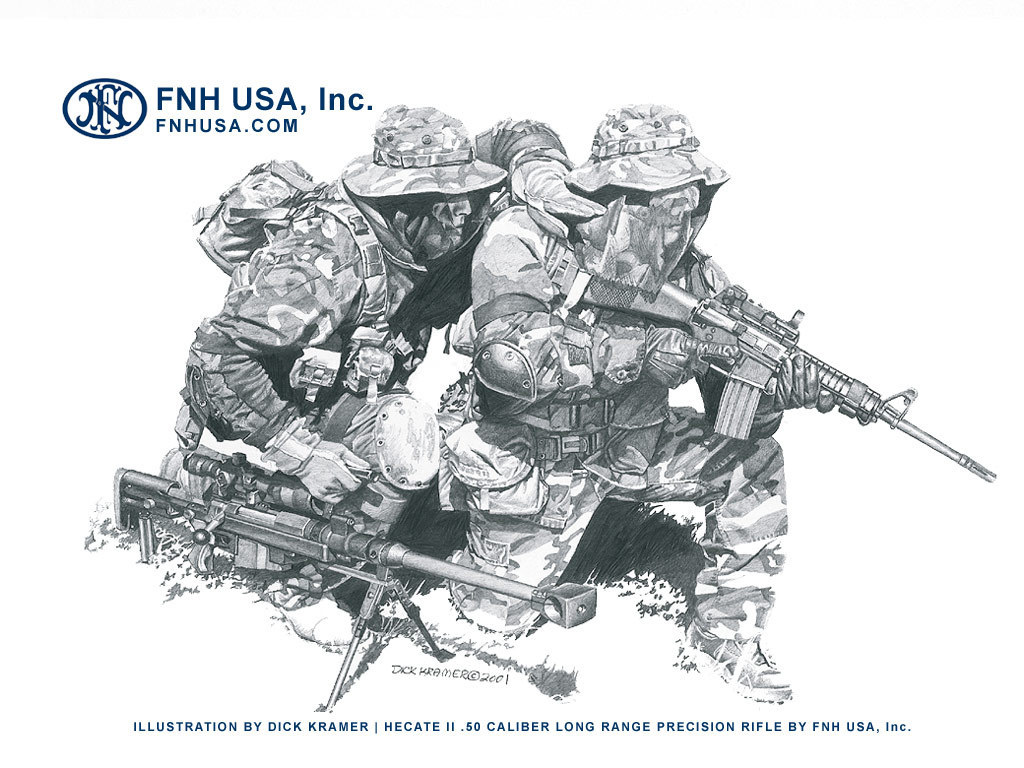 fnh USA Hecate not HD Wallpaper
