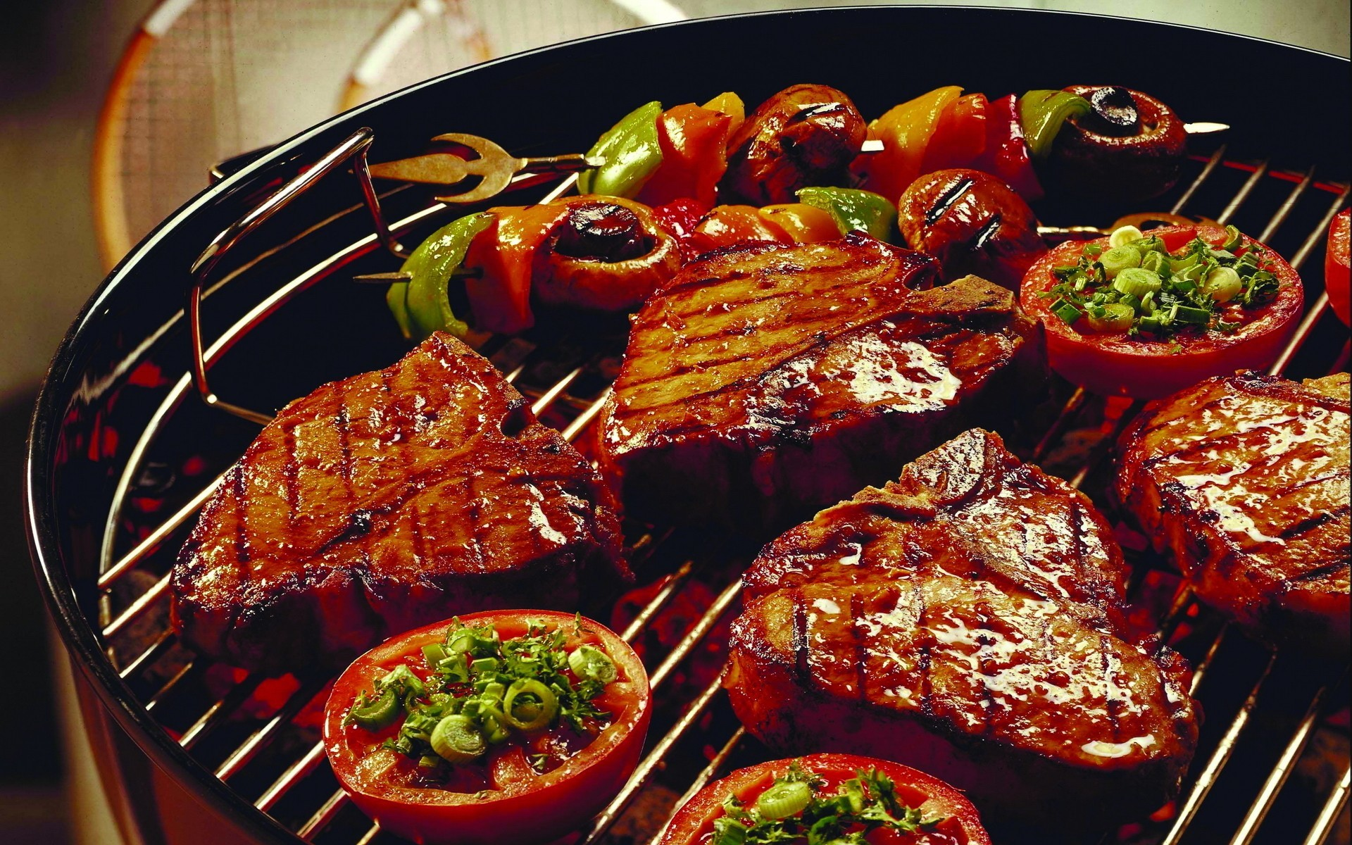 food meat barbeque barbecue HD Wallpaper