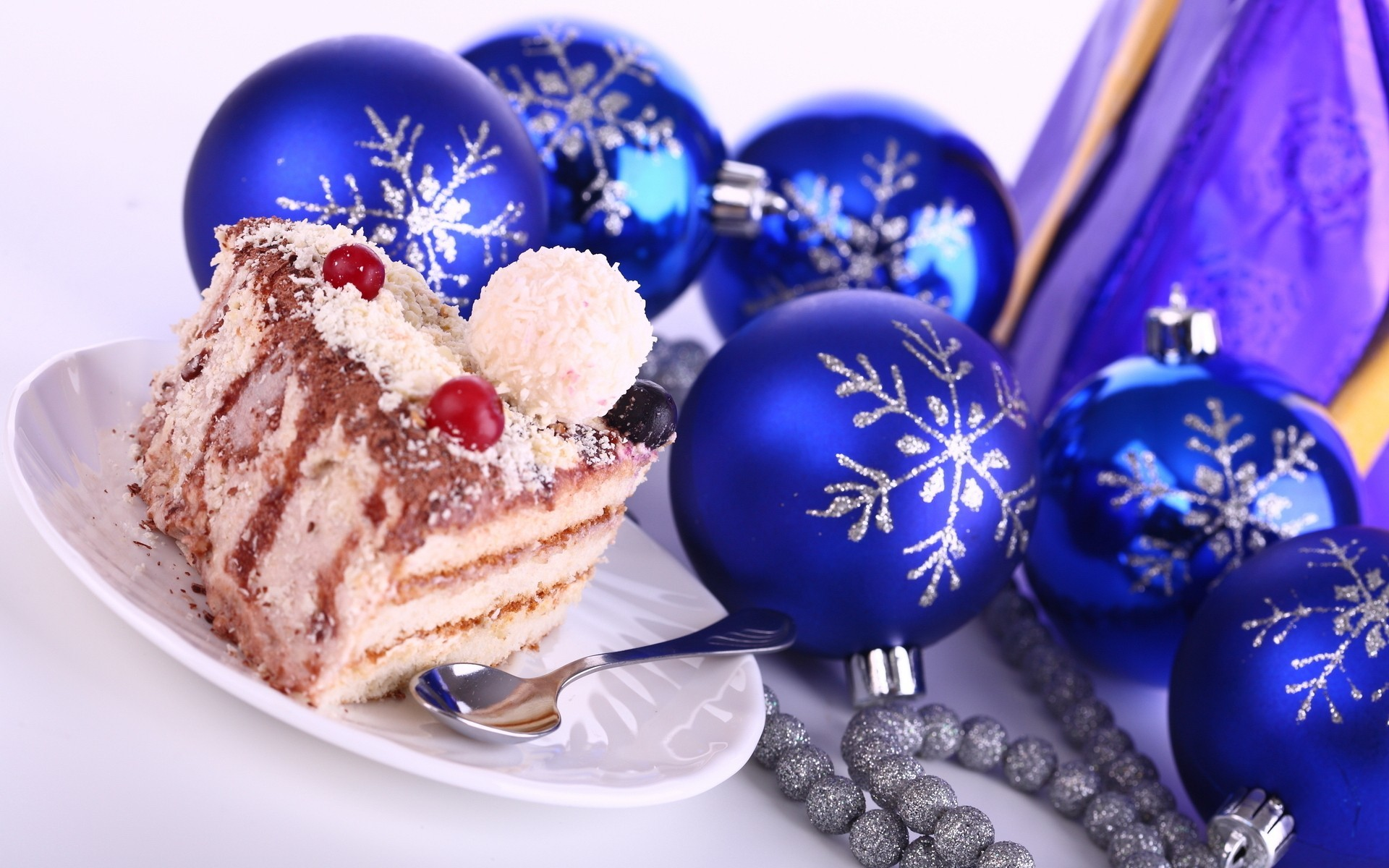 food new year decoration HD Wallpaper