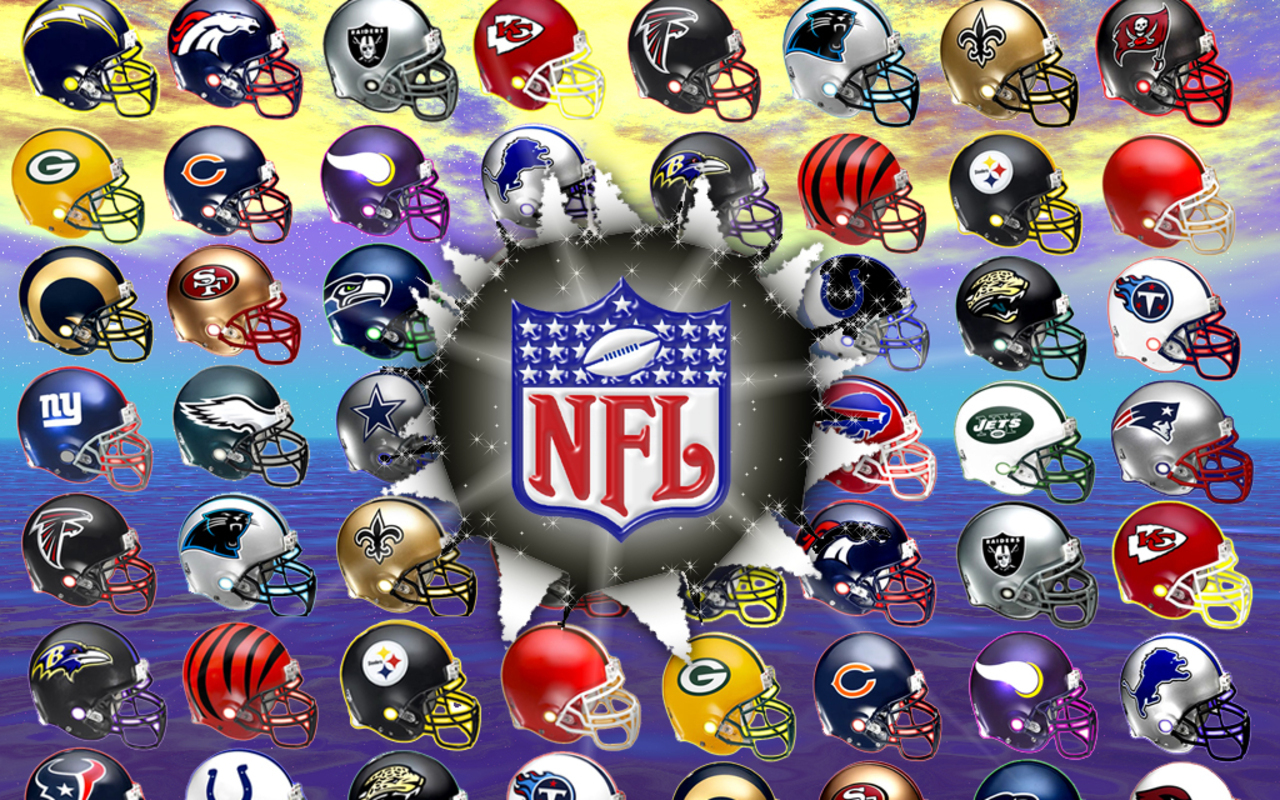 Football nfl logos Anime HD Wallpaper