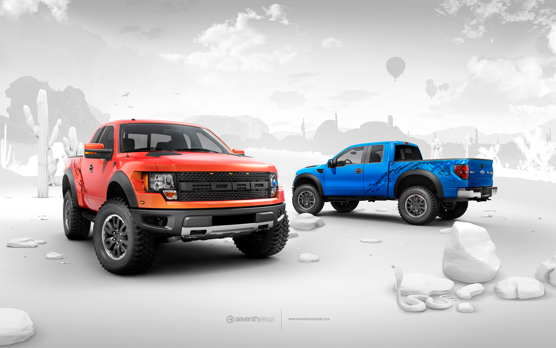Ford Ford F150 SVT HD Wallpaper