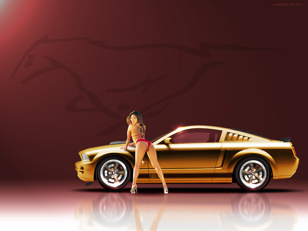 Ford mustang Car HD Wallpaper