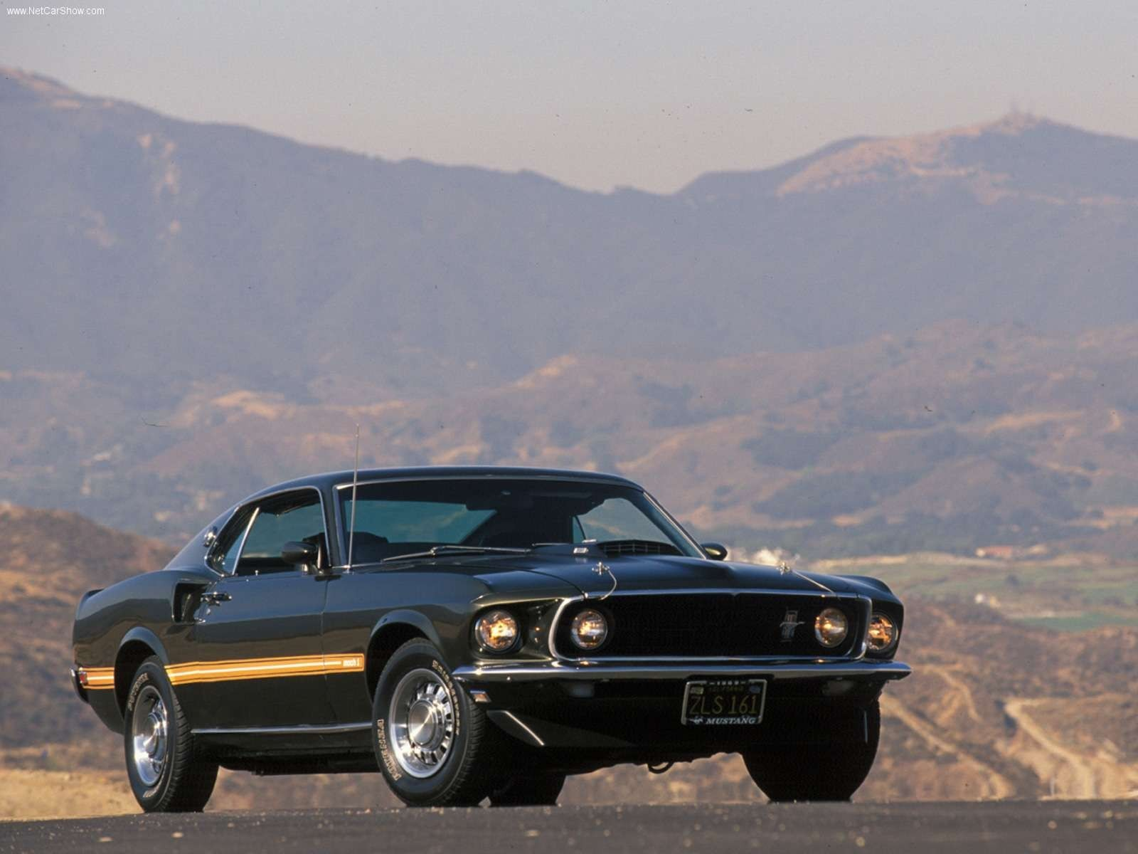 Ford Mustang Mach 1 HD Wallpaper