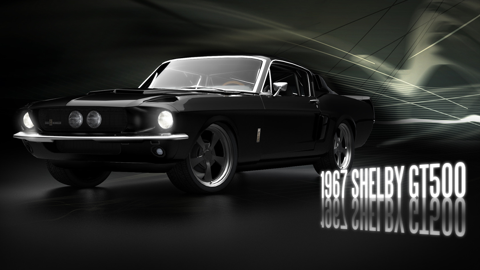 Ford mustang Shelby GT500 HD Wallpaper