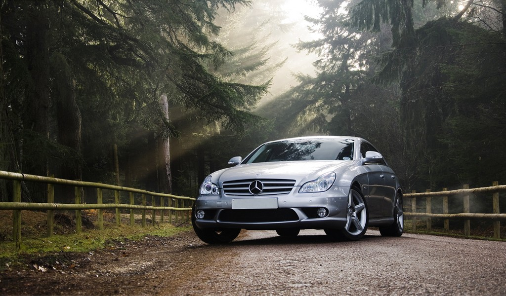 forests cars Mercedes-Benz HD Wallpaper
