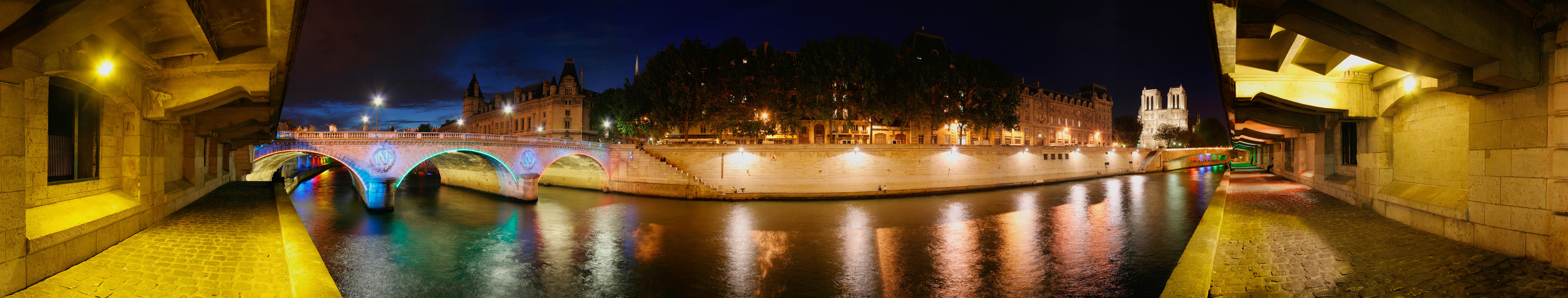 France Paris The seine HD Wallpaper