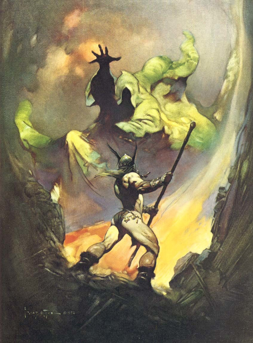 frank Frazetta HD Wallpaper