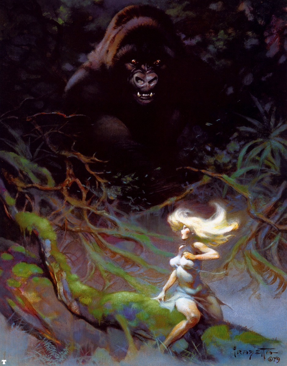 frank Frazetta kingkong by HD Wallpaper