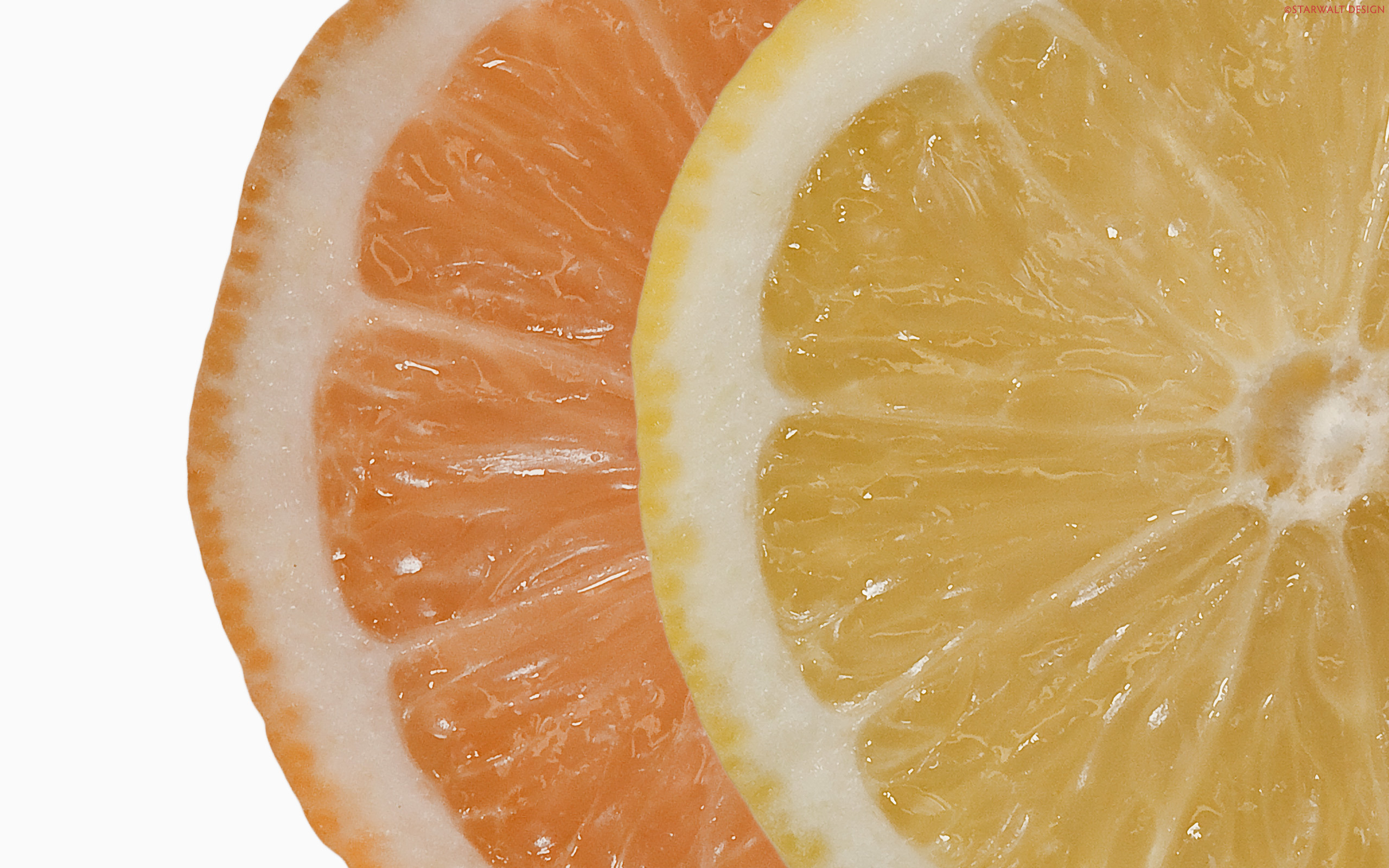 fruits oranges orange slices