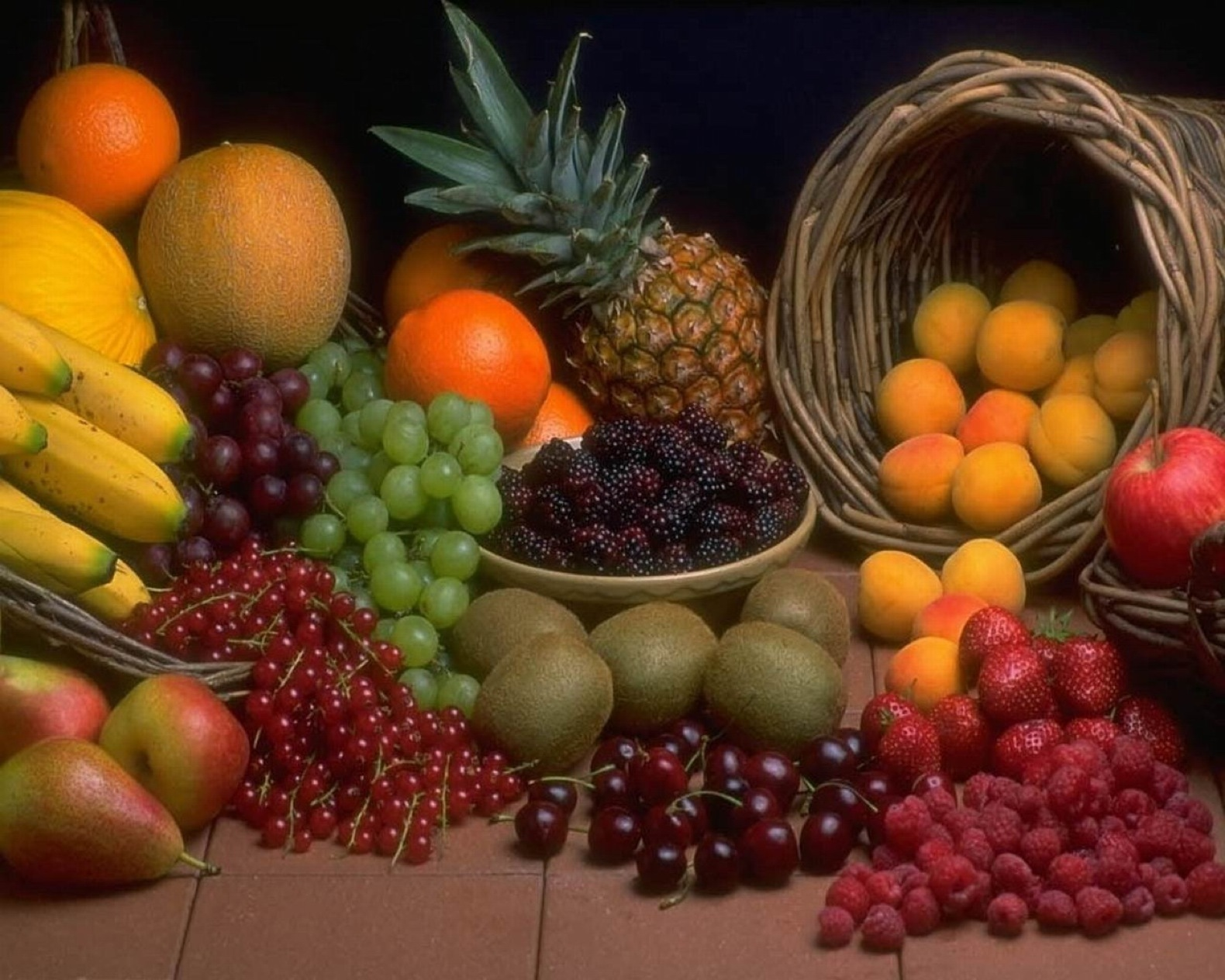 fruits yummy delicious food