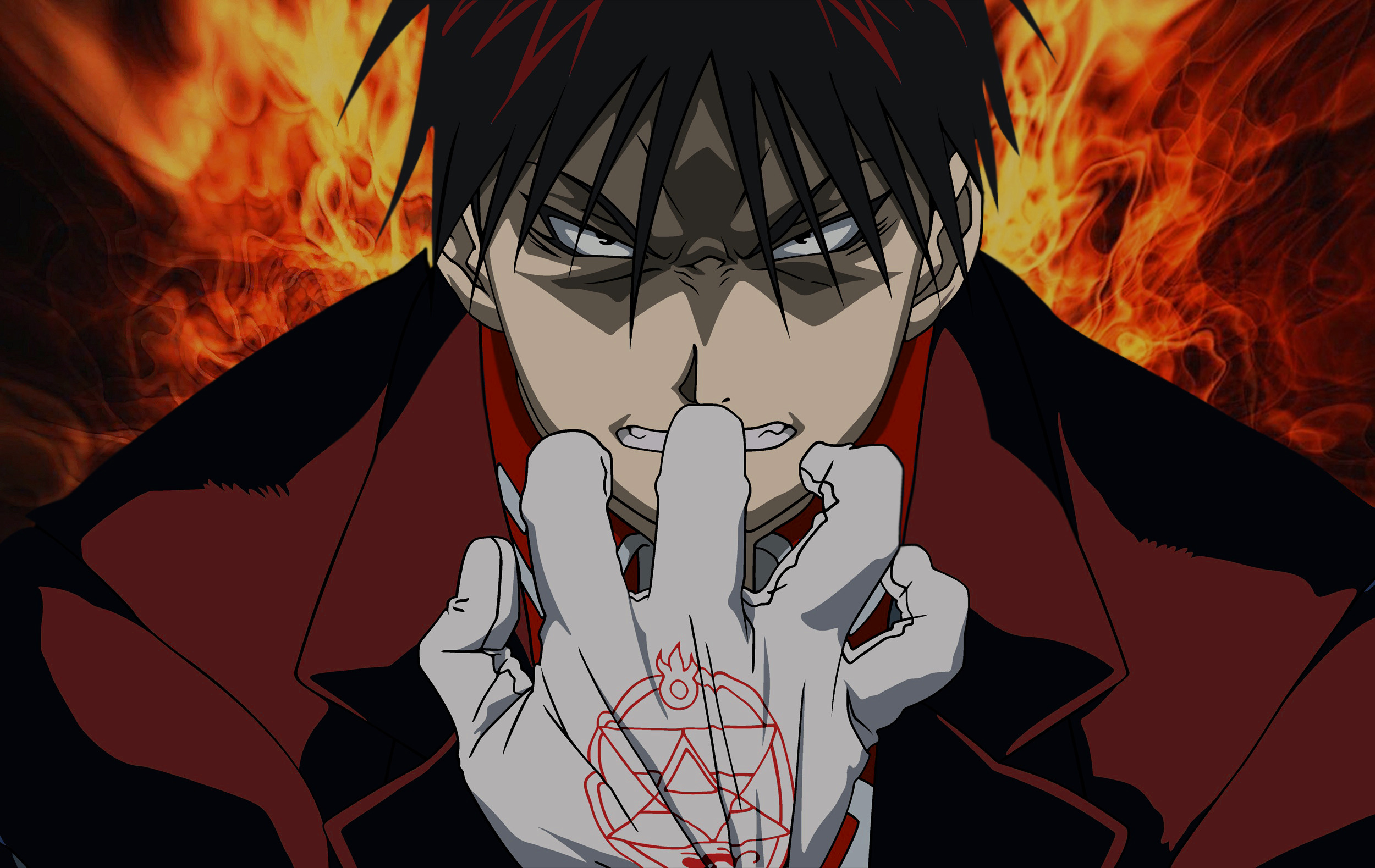 fullmetal alchemist Roy mustang HD Wallpaper