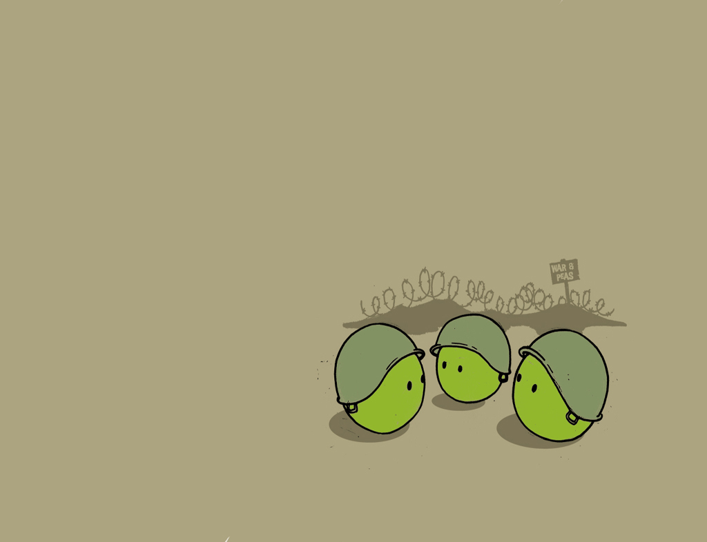 fun funny Green ball HD Wallpaper