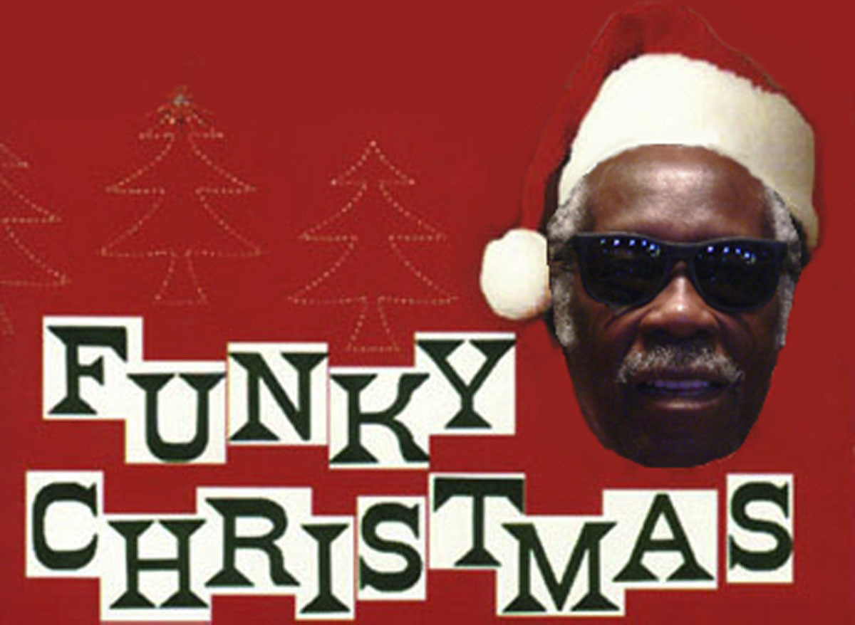funky Christmas final high HD Wallpaper