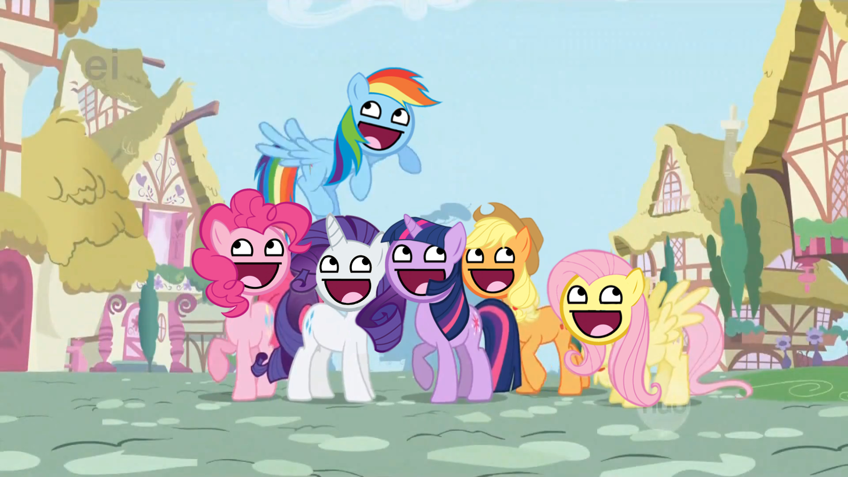 funny My little pony HD Wallpaper